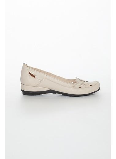 Dilimler Ayakkabı Ayakkabı Bej